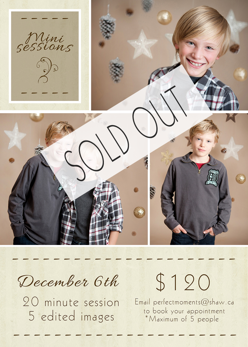 mini session SOLD OUT
