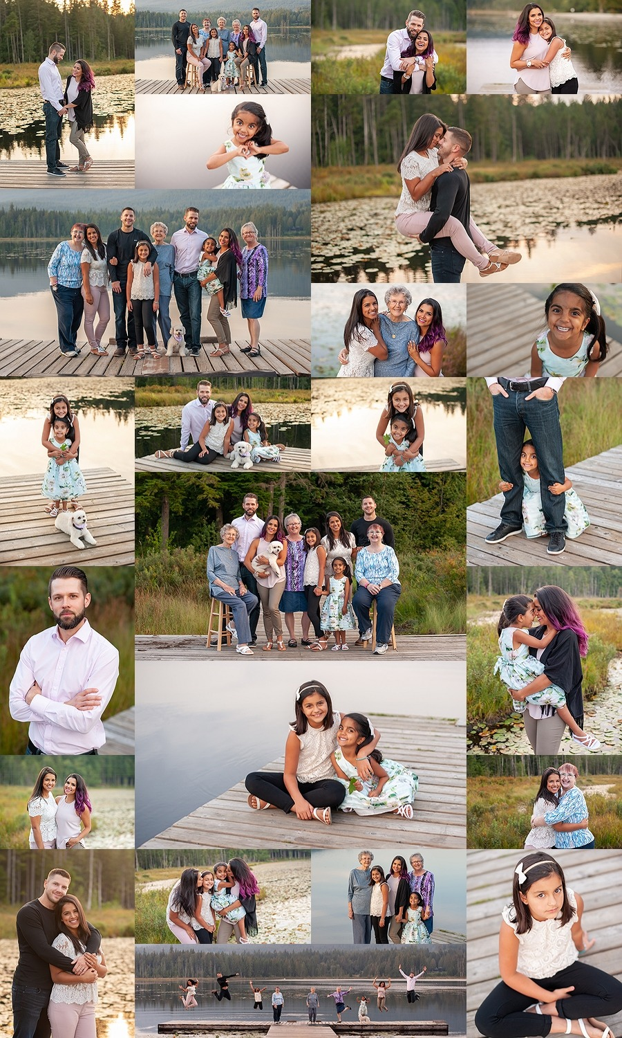 Abbotsford Extended Family Photographer - Perfect Moments